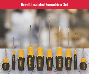 DeWalt 10 Piece Screwdriver Kit
