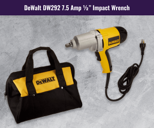 DEWALT DW292 Corded Impact Wrench Review