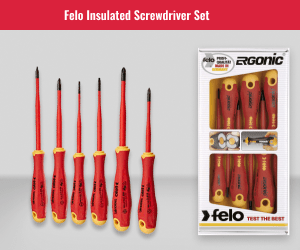 Felo Ergonic Sotted Screwdriver Set