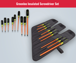 Greenlee Insulated Screwdriver Set