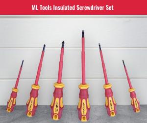 MLTools 1000 VOLT Screwdriver Set