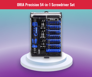Oria Precision Screwdriver Set