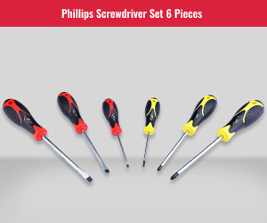 Philips 6 Piece Screwdriver Set
