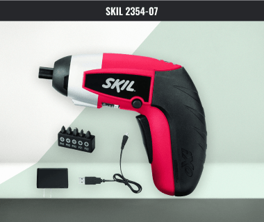Skill Rechargeable Cordless Screwdriver