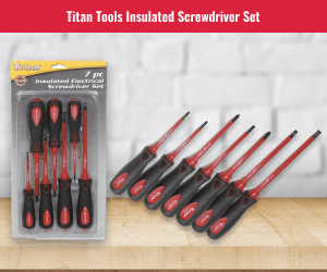 Titan Electrical Screwdriver Set