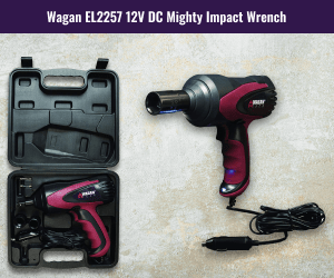 Wagan 12V DC Electric Impact Wrench