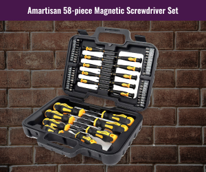 Amartisan Magnetic Gumsmithing Screwdriver Set