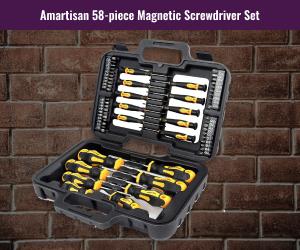 Amartisan Magnetic Gumsmithing Screwdriver Set