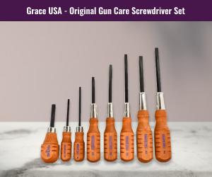 Grace USA Gun Care Screwdriver Set