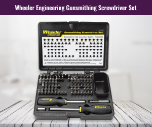 Wheeler Engineering Gunsmith Screwdriver