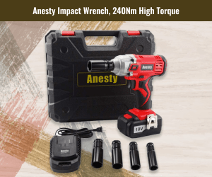 Anesty 18V High Torque Cordless Compact Wrench