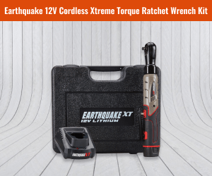 "Earthquake 12V Max Lithium ⅜"" Cordless Xtreme Ratchet"
