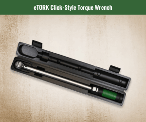 eTork Click Style Torque Wrench