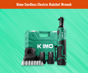 "Kimo Cordless ⅜"" Electric Ratchet Wrench"