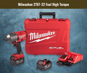 Milwaukee Fuel High Torque Impact Wrench For Tires