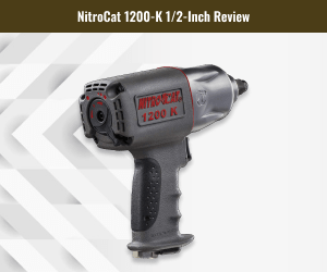 NitroCat Kevlar Composite Air Impact Wrench For Tires