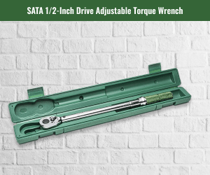 Sata Inch Drive Adjustable Torque Wrench