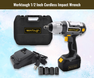 Werktough Cordless Impact Wrench For Car Tires