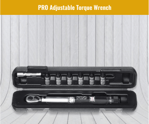 PRO Shimano Adjustable Torque Wrench